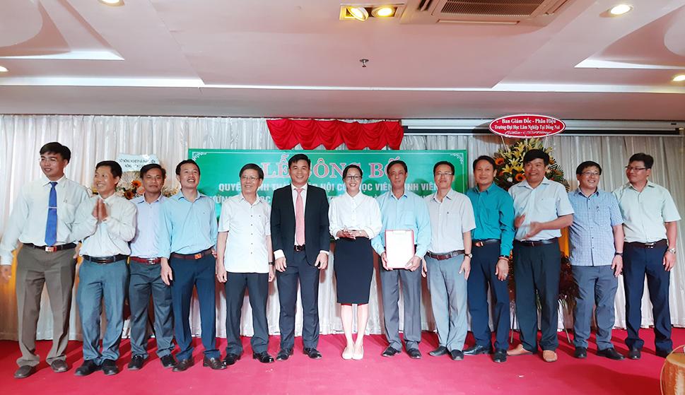 Lễ công bố Quyết định thành lập Hội cựu học viên, sinh viên Trường Đại học Lâm nghiệp tỉnh Bình Phước và chào mừng kỷ niệm 60 năm ngày truyền thống Ngành Lâm Nghiệp