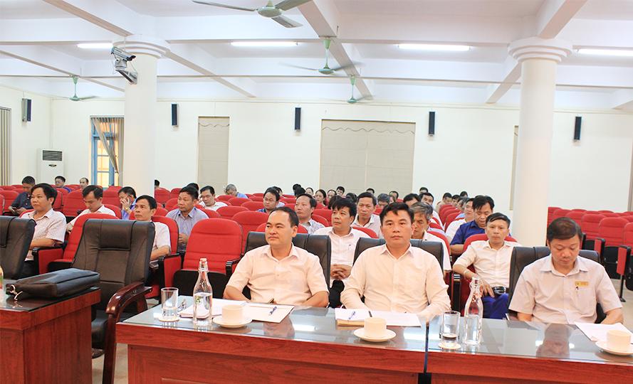 Hội nghị cán bộ chủ chốt tham gia ý kiến bổ nhiệm lại chức vụ Phó Hiệu trưởng