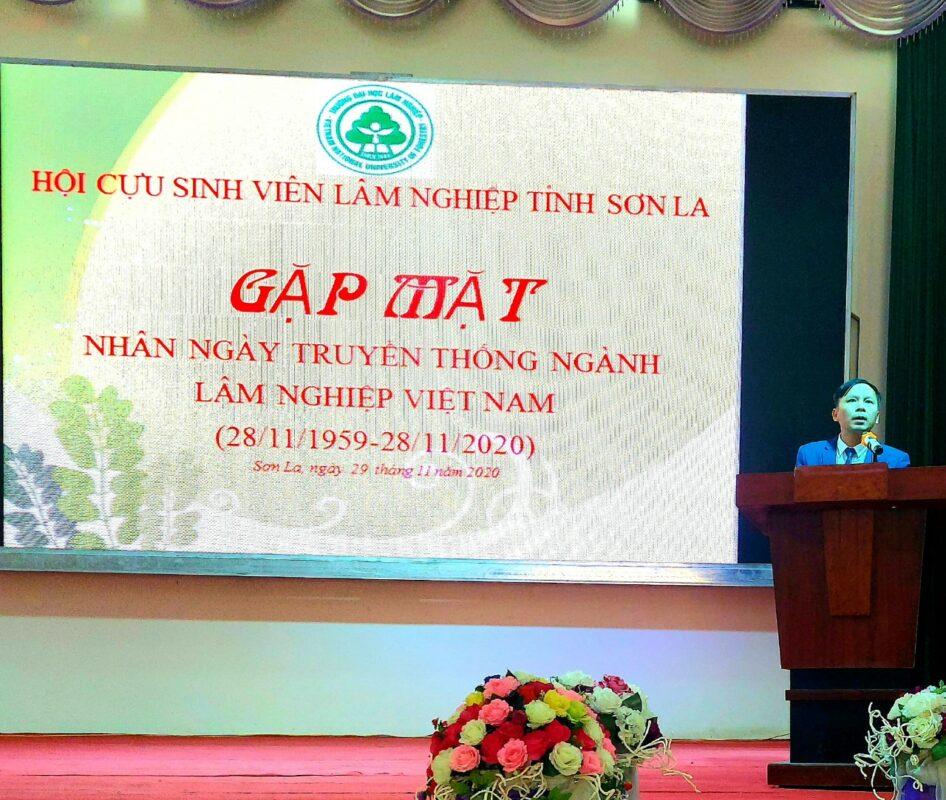 Lễ công bố Quyết định thành lập Hội cựu sinh viên Trường Đại học Lâm nghiệp tại tỉnh Sơn La và kỷ niệm 61 năm ngày Lâm nghiệp Việt Nam