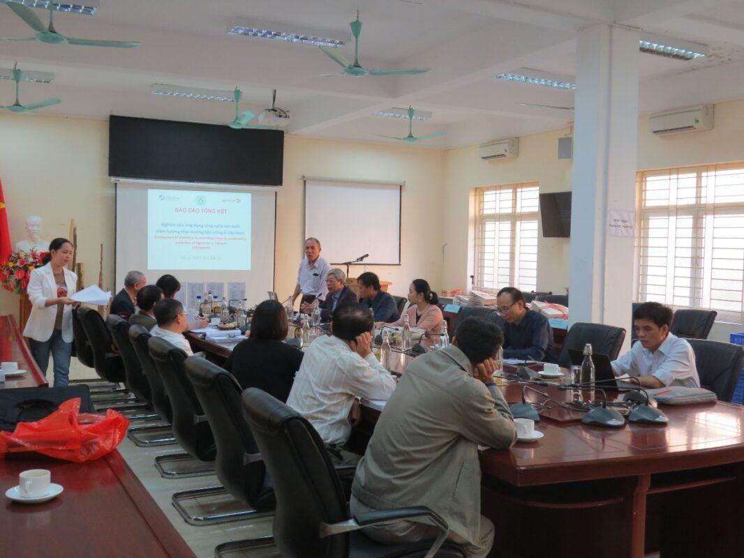 """Đánh giá, nghiệm thu cấp cơ sở nhiệm vụ khoa học và công nghệ theo nghị định thư """"Nghiên cứu ứng dụng công nghệ sản xuất trầm hương theo hướng bền vững ở Việt Nam"""""""