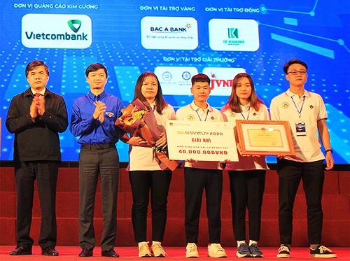 Trường Đại học Lâm nghiệp xuất sắc đạt giải Nhì Khởi nghiệp quốc gia năm 2020 (SV-STARTUP 2020).