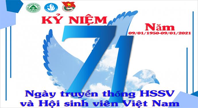 Lịch sử 71 năm ngày truyền thống HSSV và Hội sinh viên Việt Nam (09/01/1950-09/01/2021)