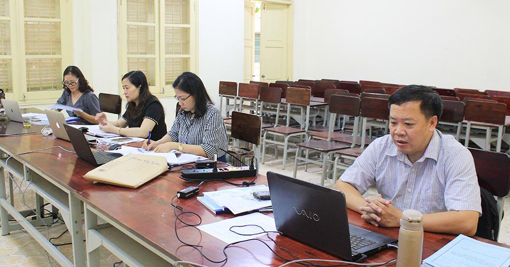 VNUF tổ chức Lễ Bảo vệ luận văn Thạc sĩ đợt 1 khoá 27 A theo hình thức trực tuyến (online)